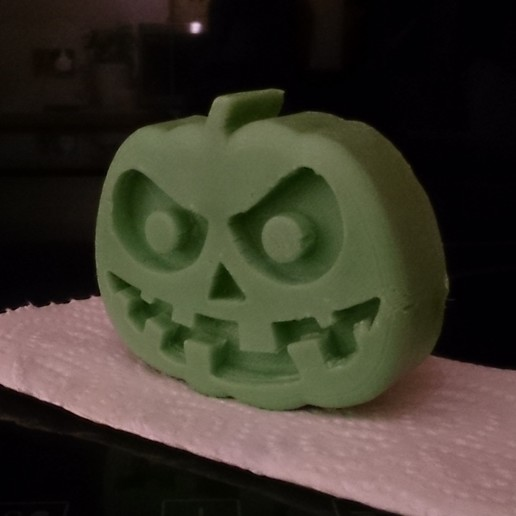 Pump-T4.jpg Download free STL file Scary Halloween Pumpkin Molds • 3D printable design, crzldesign