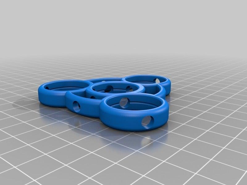 6e2a7836b56dcd4ce38da4690afe3066.png Download free STL file Fidget Spinner for Smaller Hands - Spinner B • 3D printer model, crzldesign