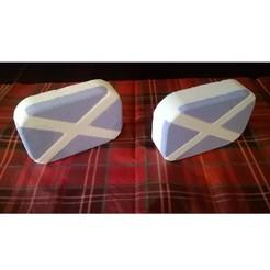 Saltire-2-3-SQ.jpg Download free STL file Scotland Saltire Bath Bomb Mold Kit • 3D printing design, crzldesign
