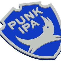 Descargar diseños 3D gratis Punk IPA Brewdog Beet Mat / Drinks Coaster, crzldesign