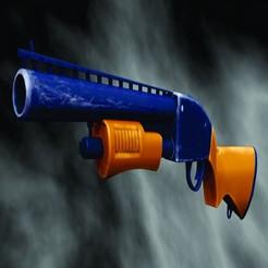 pppp244444.jpg Download STL file Pump shotgun  FORTNITE 3D model cosplay • 3D printer object, EdmarMart3D