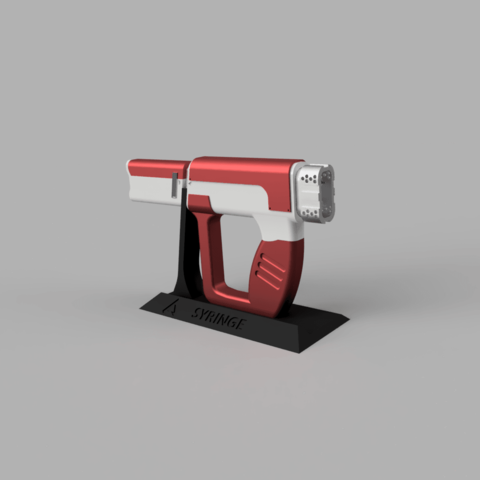 Download 3D print files The Syringe Gun - Modular Print, Jonnyo85