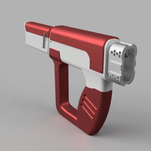 Fichier 3D Le pistolet à seringue - Impression modulaire, Jonnyo85