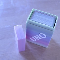 Download free STL file Box for your UNO game cards • Model to 3D print, drnbabyz