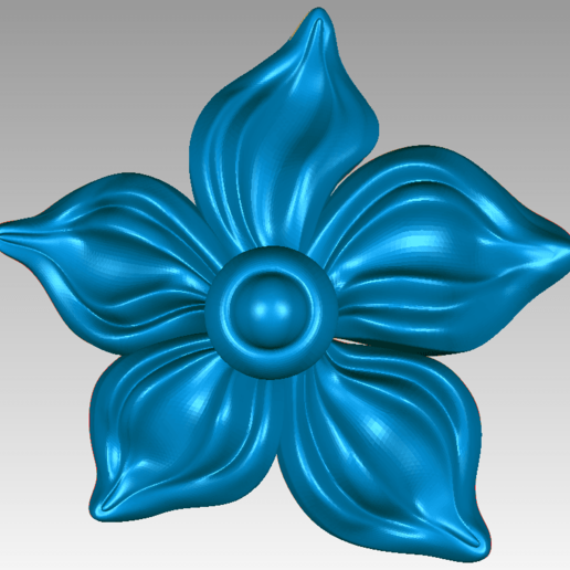 Download 3D model beautiful flower  for wood cnc , jafarhomai1988