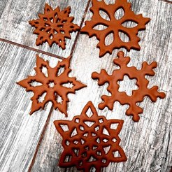 a-0H_K1RRVI.jpg Download STL file Cookie cutter snowflake • Object to 3D print, Natali