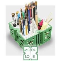 STL file MODULO 8 - modular desk organizer, CKLab