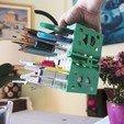 Download 3D printer templates MODULO 8 - modular desk organizer, CKLab