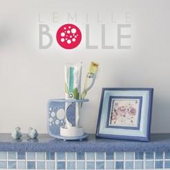 Télécharger fichier STL Lemille Bolle • Modèle imprimable en 3D, CKLab