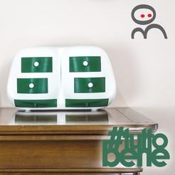Download 3D printer designs #tuttobene - cassettiera scaramantica, CKLab