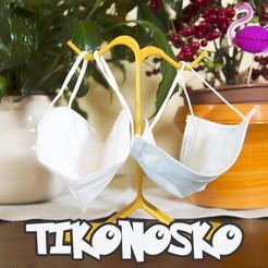 cover.jpg Download STL file TiKonosKo facemask holder • 3D printer design, CKLab