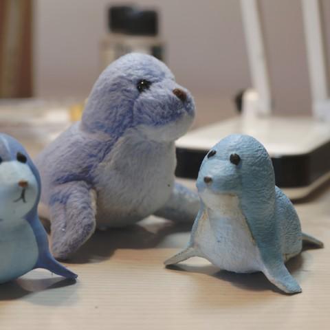 Download free 3D printing files Jonny the Seal, CKLab