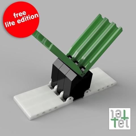 Fichier STL gratuit TelTel LITE - organiseur de carotte définitif, CKLab