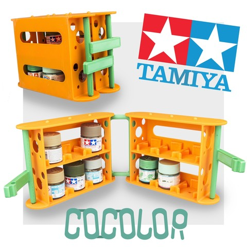 3D printer models COCOLOR - for TAMIYA and MR.HOBBY acrylic colors, CKLab
