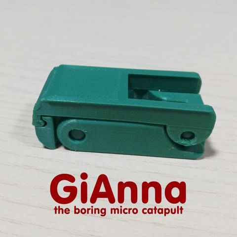 Download free STL files GiAnna - the boring micro catapult, CKLab