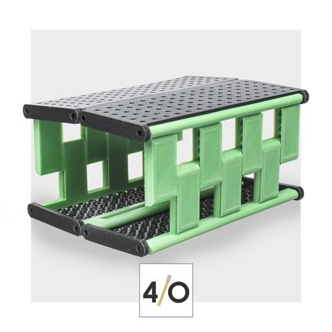 Télécharger plan imprimante 3D 4/O - support pour coloration, CKLab