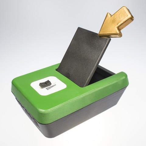 _MG_6593.jpg Télécharger fichier STL gratuit MON MO - faire un vœu et économiser de l'argent pour le réaliser. • Design pour impression 3D, CKLab