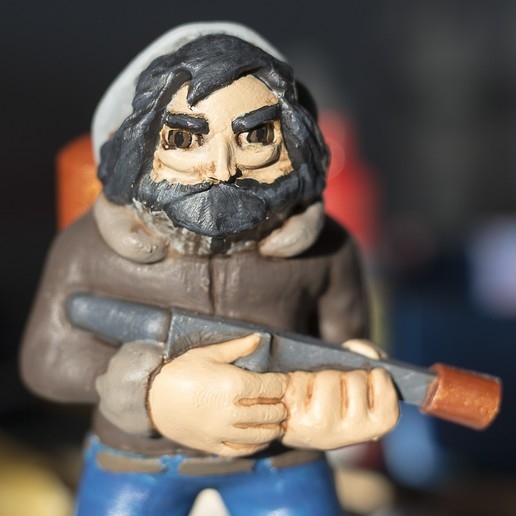 Download free 3D print files Keshiverse - Macready (The Thing), CKLab