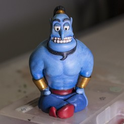 Download free 3D model Genie (Easy print no support), CKLab