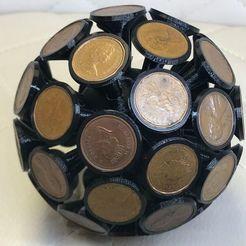 Télécharger objet 3D gratuit Décoration des boules de monnaie, franciscoczapski