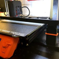 Télécharger plan imprimante 3D gatuit Bande lumineuse à LED pivotante pour MK3, franciscoczapski
