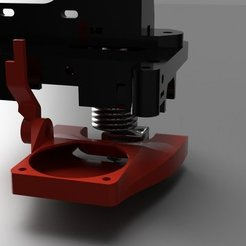 Free 3D printer designs Flat Fan 40mm for Mendel90, franciscoczapski