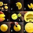 Free 3D print files Mechaninc PACMAN, franciscoczapski