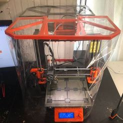 Download free 3D printer designs Printed Enclosure for PRUSA MK3, franciscoczapski