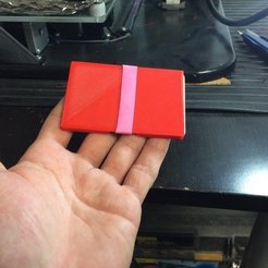 Download free 3D printing files Extra thin wallet, franciscoczapski