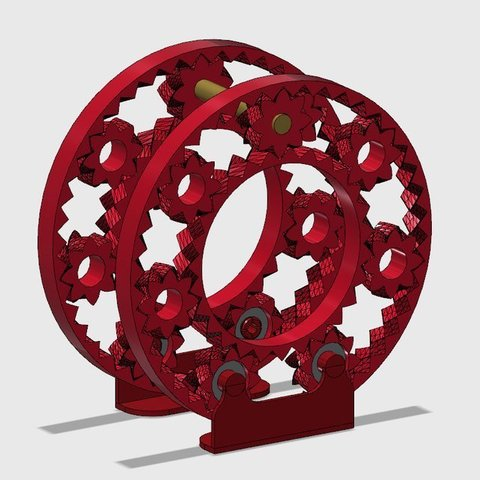 model2_display_large.jpg Download free STL file Planetary Filament holder • 3D printing model, franciscoczapski