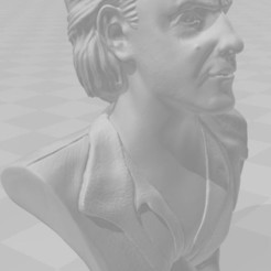 Descargar archivo 3D Busto Emmett Brown, barretomueller