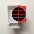 STL gratuit Extracteur de fumée imprimé 3D minimaliste, rdmmkr