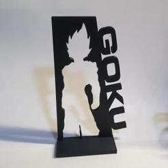 Download free 3D printer files Goku decoration, MagnusBee