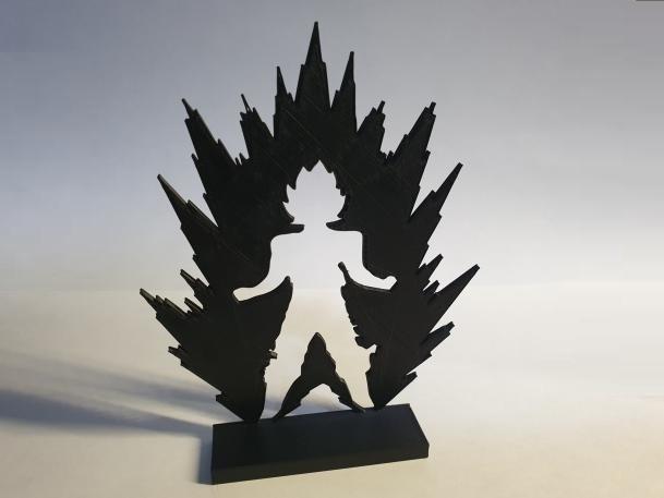 20190403_221327.jpg Download free STL file Goku Base Decoration • 3D printer model, MagnusBee
