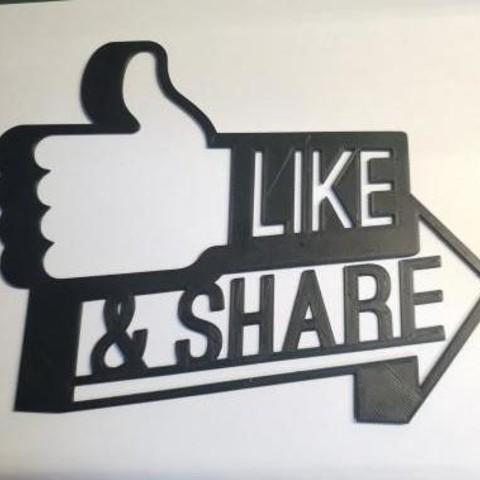 20190403_005012.jpg Download free STL file Like & Share Wall Decor • 3D printing design, MagnusBee
