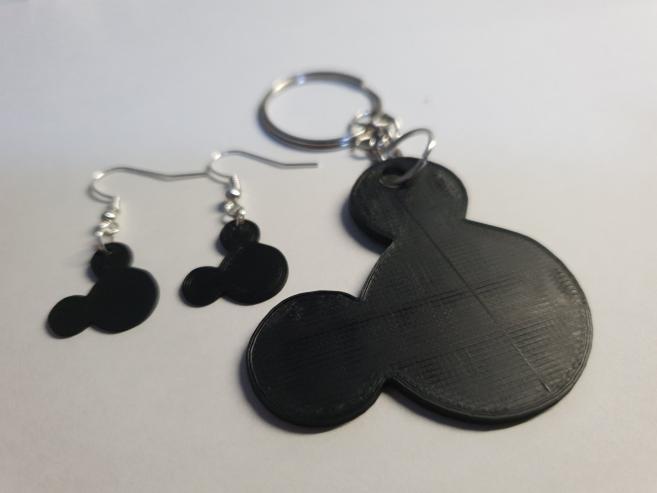 20190317_180301.jpg Download free STL file Mickey pendants / keychain • 3D printable object, MagnusBee