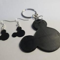 Download free STL file Mickey pendants / keychain • 3D printable object, MagnusBee