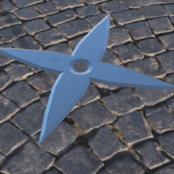 Download free STL Shuriken, Logtrimmer