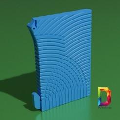 Download 3D printer designs wallet card with money clip , DinuSuciu