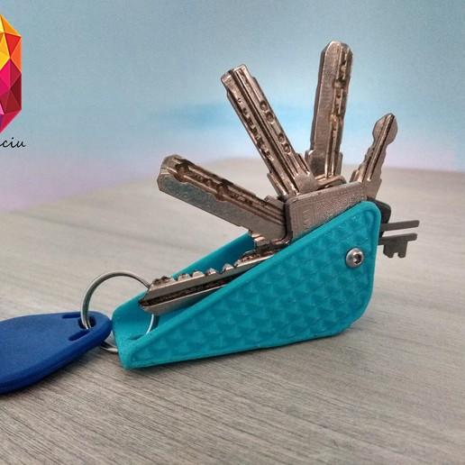Download STL file Key  holder, DinuSuciu