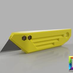 Download STL trapezoid cutter blade , DinuSuciu