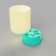 Download free 3D print files aaa battery holder, DinuSuciu