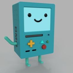Download 3D printer templates BMO adventure time, DinuSuciu