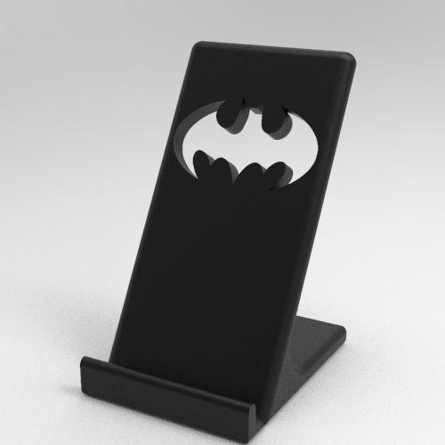 0_11.jpg Télécharger fichier STL Titulaire du téléphone Batman • Modèle pour imprimante 3D, IceKiwi