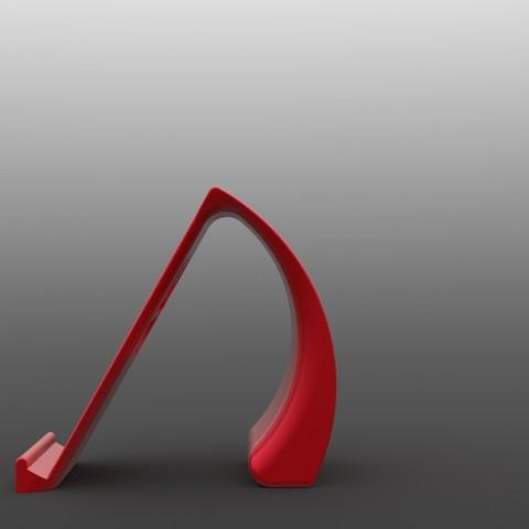 IronManStand3.jpg Download STL file Ironman Phone Holder • 3D print model, IceKiwi