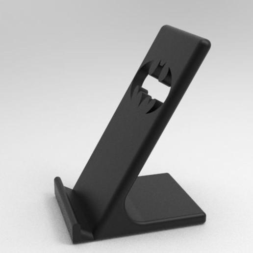 0_37.jpg Télécharger fichier STL Titulaire du téléphone Batman • Modèle pour imprimante 3D, IceKiwi