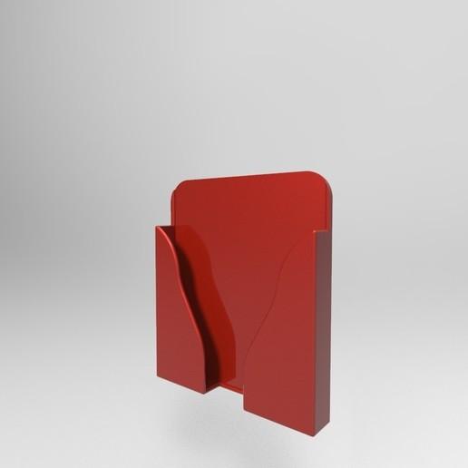 untitled.163.jpg Télécharger fichier STL SUPPORT MURAL POUR LA RECHARGE DES TÉLÉPHONES • Modèle à imprimer en 3D, IceKiwi