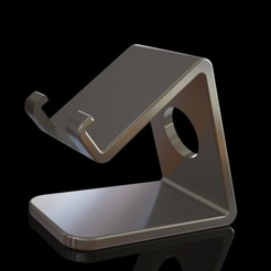 Descargar modelos 3D Soporte de teléfono mínimo, IceKiwi