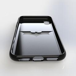 Télécharger fichier 3D Étui pour iPhone X Batman, IceKiwi