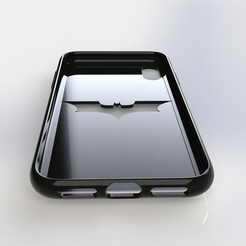 Download 3D print files IPhone X Batman Case , IceKiwi